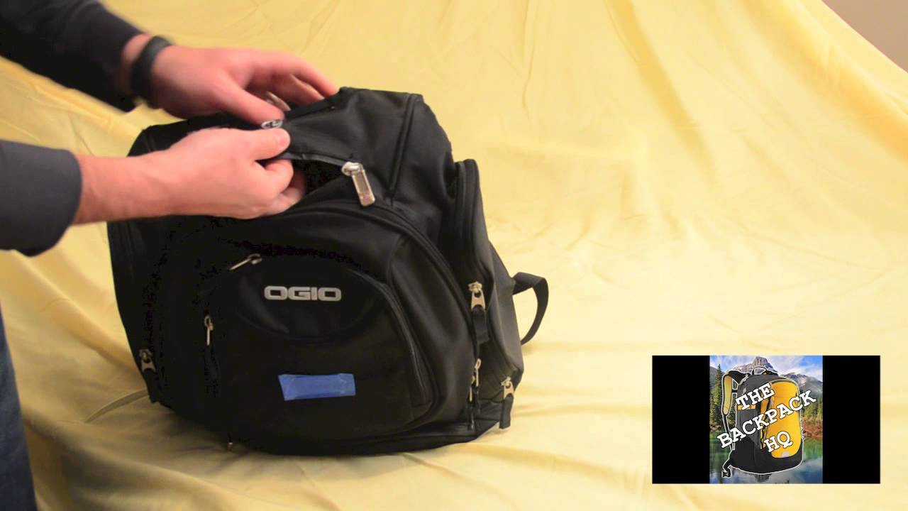 Ogio Metro Laptop Backpack Review - YouTube