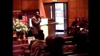 "Reverend Gatho Beevens Preaching ""Jesus Christ """