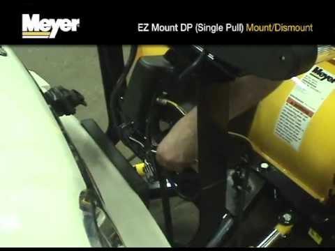 meyer plow hook up