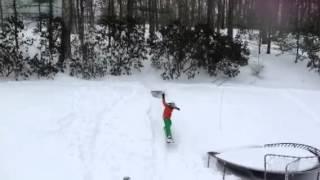 Powder snowboarding Thumbnail