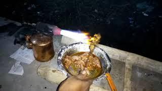 Makeing chicken grill with blue lamp-ব্লু ল্যাম্প দিয়ে চিকেন গ্রিল বানানো