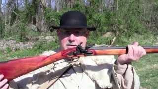 Shooting TVMs Iron-Mounted Pennsylvania Longrifle.mov