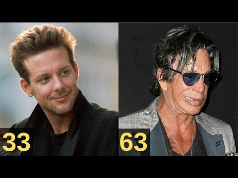 Mickey Rourke From 18 To 66 Years Old