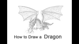 How to Draw a Dragon (Flying)