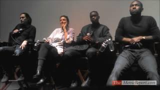 Trevante Rhodes & Ashton Sanders MOONLIGHT Q&A - October 21, 2016
