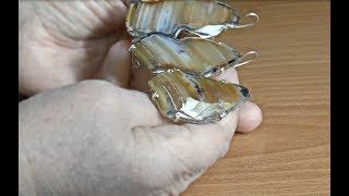 видео Кольца серебряные с раухтопазом