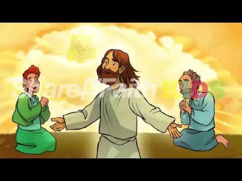 Jesus Teaches How to Pray Luke 11 Sunday School Lesson Resource