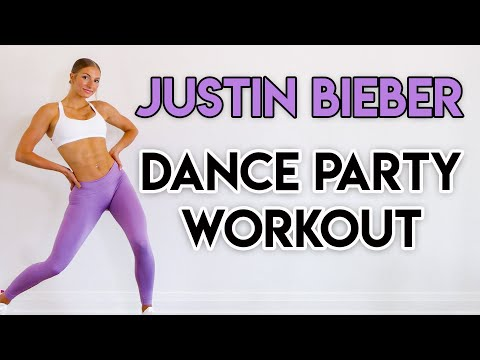 15 MIN JUSTIN BIEBER DANCE PARTY WORKOUT - Full Body/No Equipment