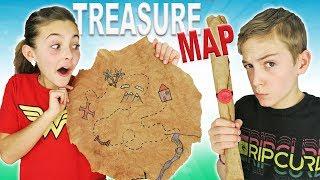 How To Make DIY Treasure Map | Easy Kids Crafts