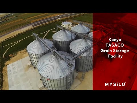 Mysilo Grain Storage Systems / Konya - TASACO Grain Storage Facility
