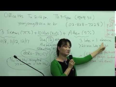 CALCULUS II- Dra. Yoon Song - Soongsil University Department of Mathematics Seoul-PART 1