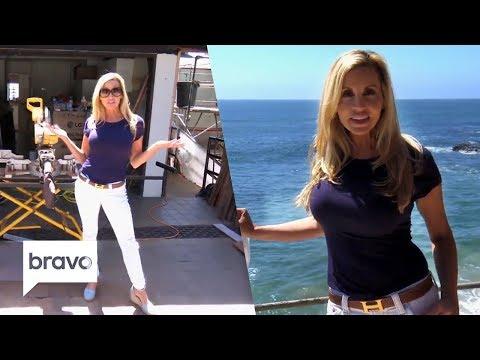 Camille Grammer's Beach House Tour | RHOBH | Bravo