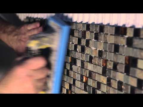 posa mosaico su rete 30x30 a rivestimento