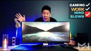"Most VERSATILE ULTRAWIDE Monitor for EVERYTHING! BenQ EX3501R 35"" Ultrawide Curved Monitor Review"