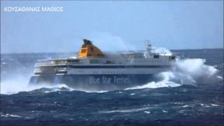 BLUE STAR PAROS ΣΤΟ ΣΤΕΝΟ ΜΥΚΟΝΟΥ - ΤΗΝΟΥ