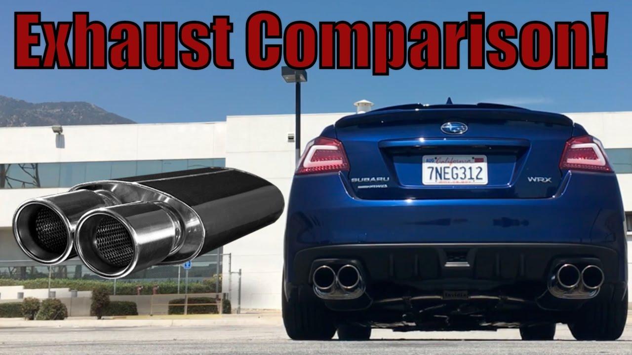 2015 2017 Subaru Wrx Exhaust Comparison Invidia Magnaflow X Parts Diagram Force