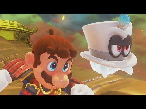 Super Mario Odyssey 100% Walkthrough Part 10 - Bowser's Kingdom (All Moons & Purple Coins)