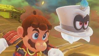 Super Mario Odyssey 100% Walkthrough Part 10 - Bowser