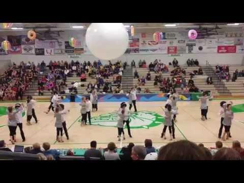 LPA Ballroom Teams Disco Funky Music at PHS