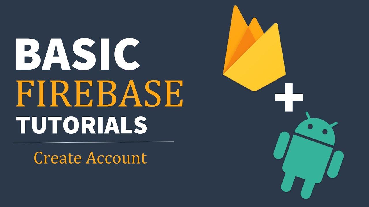 How to Create Firebase Account   Firebase Basic Tutorial for Beginners
