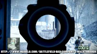 Battlefield: Bad Company 2 Walkthrough - Chapter 1: Cold War Part 1 HD
