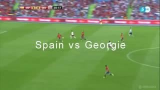 Spain vs georgia 07/06/2016