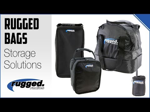 Rugged Radios: Storage Bag Lineup