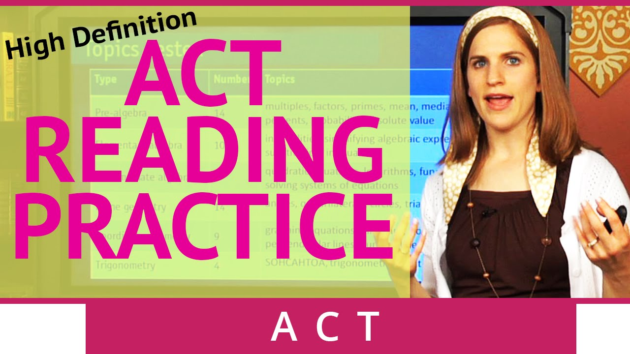 ACT Reading Strategies: 6 Question Types(HD) - Brightstorm ACT Prep