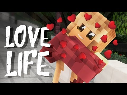 PLANNING THE WEDDING - FUTURE LOVE LIFE - Minecraft Love Story