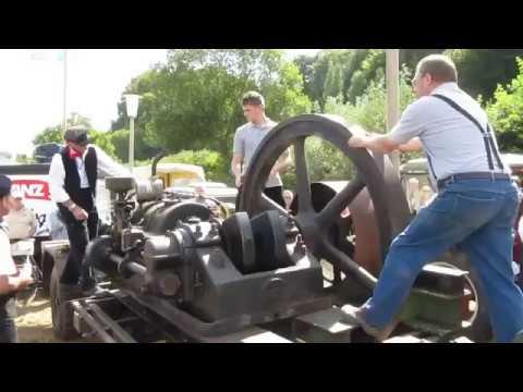 15 ЛИТРОВ !!! ЗАПУСК стационарного двигателя HEMAG ! никто не пришел на фан встречу