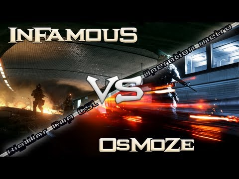 BF3 | InFamouS.EndLess [I4L] vs [OmZ] OsMoZe | Opération Métro - BigWar Cup CSL | PS3