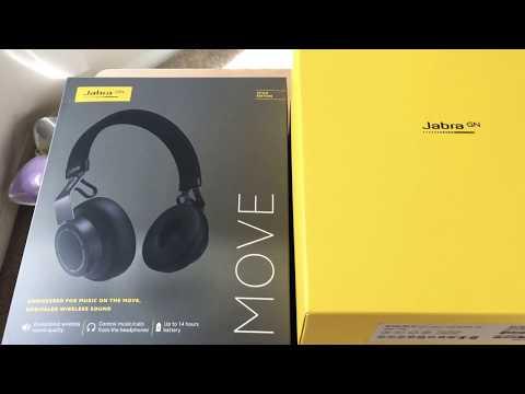Jabra Move Style Edition Wireless On Ear Headphones Unboxing 2-12-19