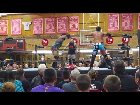 FTW  Tag Team Match  JD Alpha and Leland Parker vs Dominick Denero and The Beast