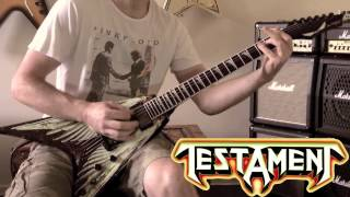Testament - Rise Up Guitar Cover