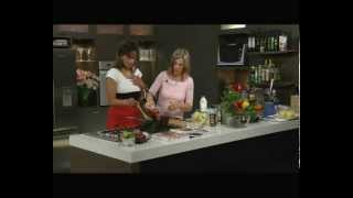 Annabel Langbein Cooks Vegetarian Moussaka On April In The Afternoon, 2008