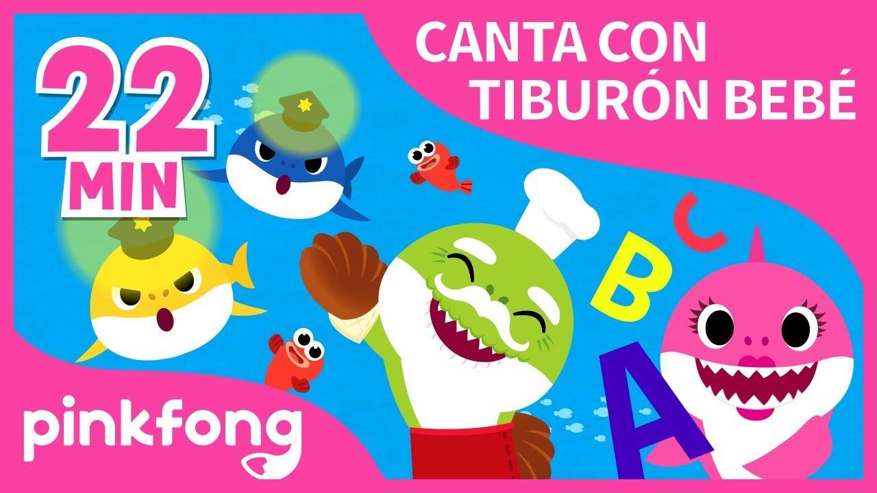 Las Mejores Canciones de Canta con Tiburón Bebé 2018   +Recopilación   Pinkfong Canciones Infantiles