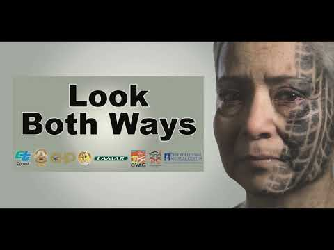 Look Both Ways Safety Campaign - Caltrans News Flash #146