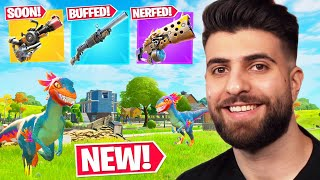Everything Epic DIDN'T Tell You In The RAPTOR Update! (NEW Items,  Big Shotgun Changes) - Fortnite