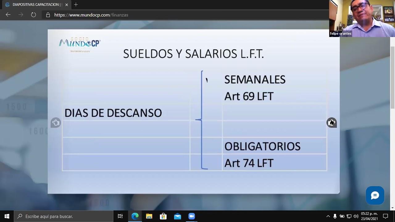 ESTUDIO INTEGRAL DE LA NÓMINA