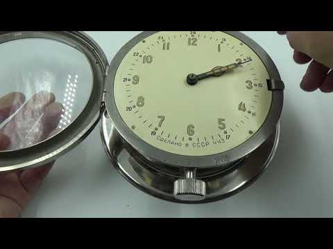 VOSTOK PLATFORM ESCAPEMENT FOR RUSSIAN  SUBMARINE NAVY MARINE SHIP WALL CLOCK