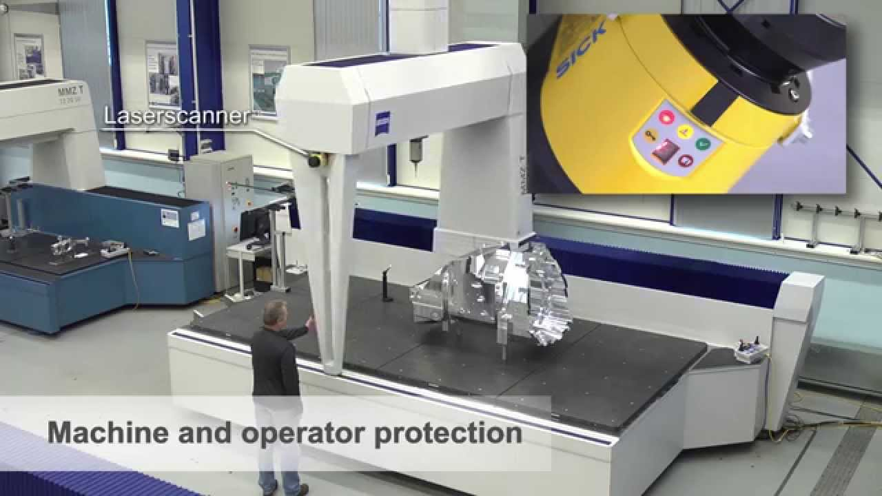Large Bridge Cmms From Zeiss Industrial Metrology Youtube
