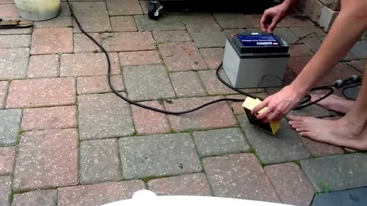 Battery Backup Sump Pump Successful Test By Using A Campbell Hausfeld 12 Volt 40amp Hour Maintenance You