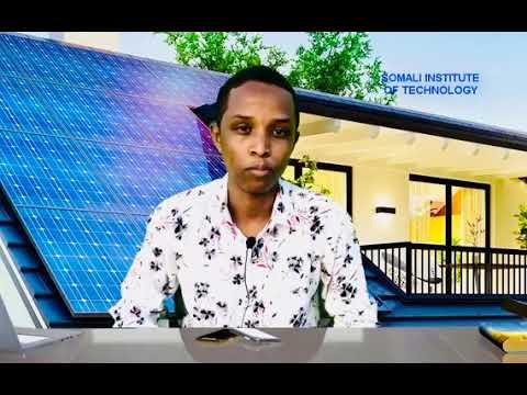 INTRODUCTION TO SOLAR SYSTEM (AF SOMALI) -ENG. MOHAMED ADAM NUR