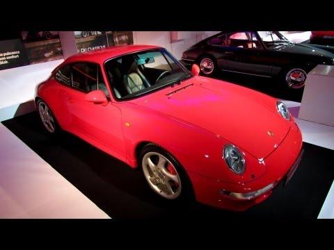 1996 Porsche 911 Carrera 4S Coupe - The Car and The Publicity Exposition - 2012 Paris Auto Show