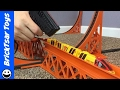 Tyco Super Turbo Train Test - Train Goes through Loop and Jumps!