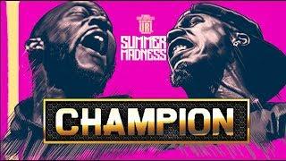 CHAMPION | HITMAN HOLLA VS TAY ROC SMACK RAP BATTLE | URLTV