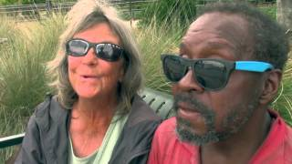 Two Beautiful Humans that are homeless in Sarasota Florida