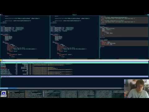 Media Center | Python/Django/JavaScript/ES6 Live Coding - Episode 8 (Pt 1)