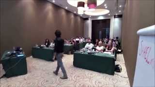 Presentology Training at Desert Palm Hotel, Dubai, UAE