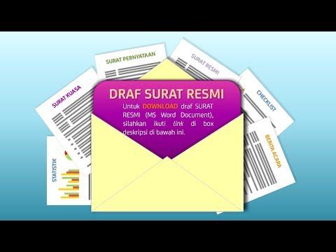 Download Draf Surat Resmi